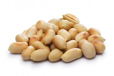 Blanched, roasted peanuts