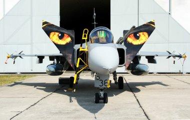 Aircraft JAS 39C Gripen