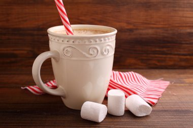cup of sweet cocoa