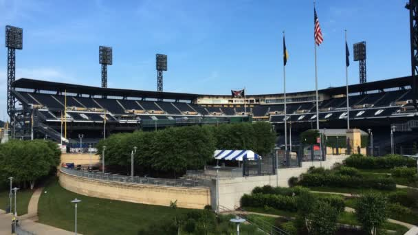 The PNC Park, field of the Pittsburgh Pirates club