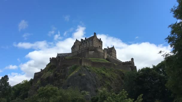 4 k Ultrahd reálném čase zobrazení hradu Edinburgh, Skotsko