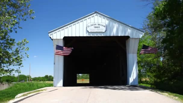 View of Allens Mill Covered Bridge in Ohio, United States