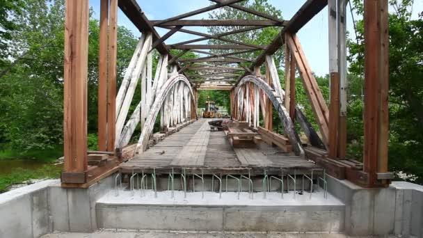 Harshaville Covered Bridge v Ohiu, Spojené státy se přestavují