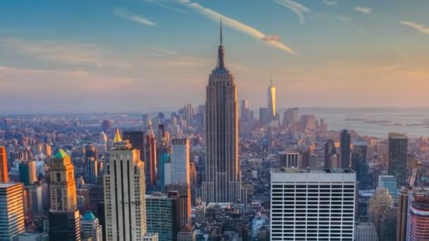 Zmenšení soumraku v srdci Manhattanu