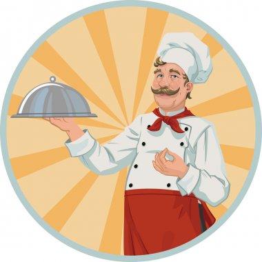 Chef in a retro style