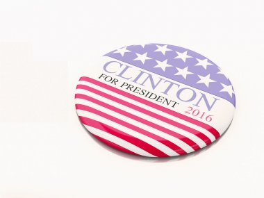 Buenos Aires, Argentina - 12 MAY, 2016: 3d Illustration of presidential pins