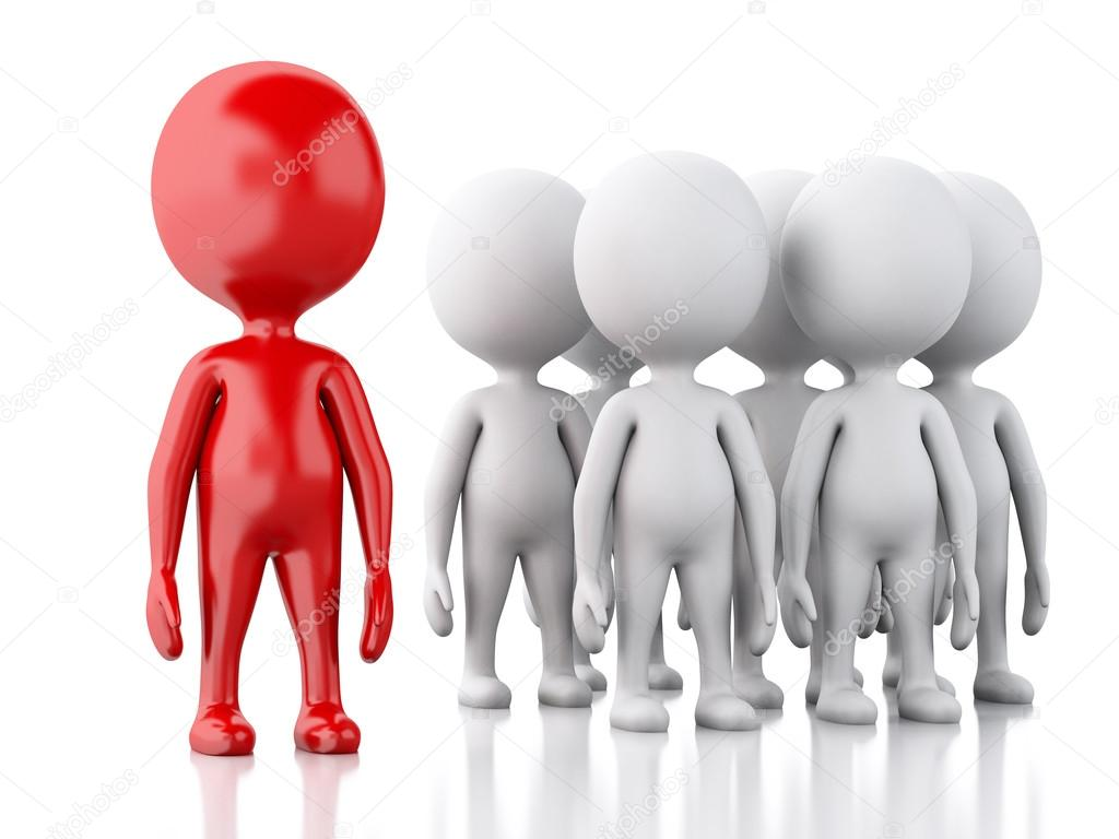 Красные картинки человечки