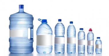 Different water bottles