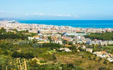 cityscape of Pescara in Italy