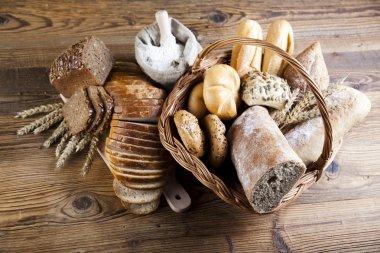 Breads in basket