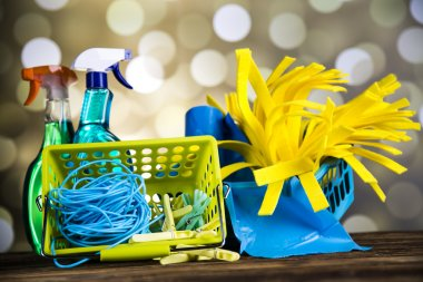 Composition of cleaning products