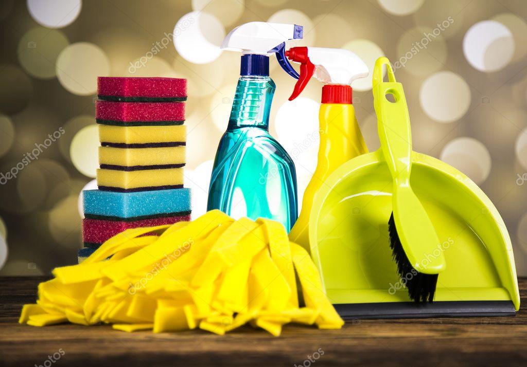 Producto de limpieza de casa foto de stock dianaduda - Imagenes de limpieza de casas ...