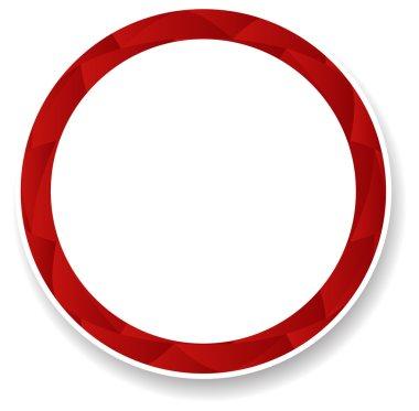Vector circle frame