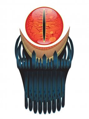 Sauron Eye vector