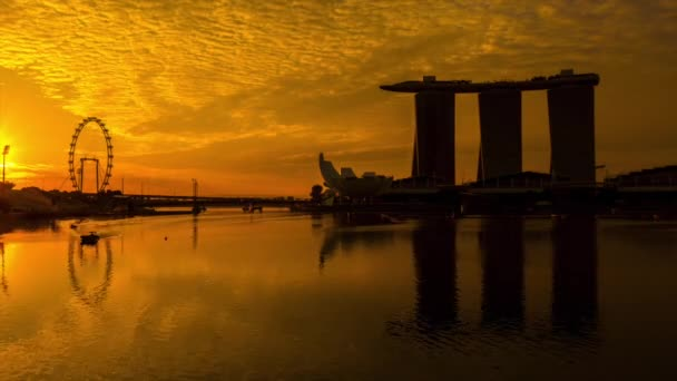 Marina Bay sand in the morning Singapore.