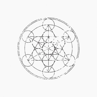 Cube of Metatron, geometric symbol