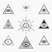 Fotografie All seeing eye symbol