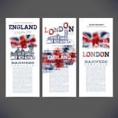 Abstrakt-geometrischen Flagge England