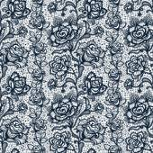 Fotografie Abstract seamless lace pattern with flowers roses