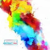 abstrakte Aquarell-Palette