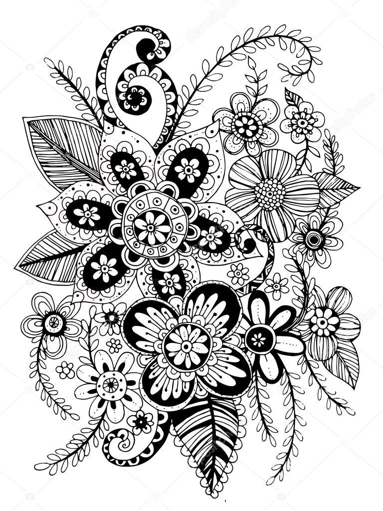 Flower Freehand