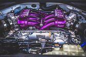 sportovní auto motor