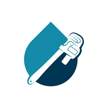 Plumbing logo design vector illustration, Creative Plumbing logo design concept template, symbols icons icon