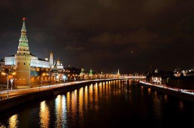 Night view of Kremlin