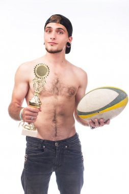 Guy with the cup and ball