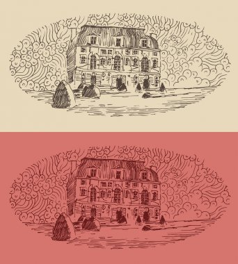 Hand drawn French province