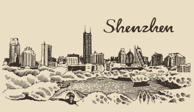 Shenzhen city sketch