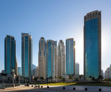 Skyscrapers Dubai-UAE