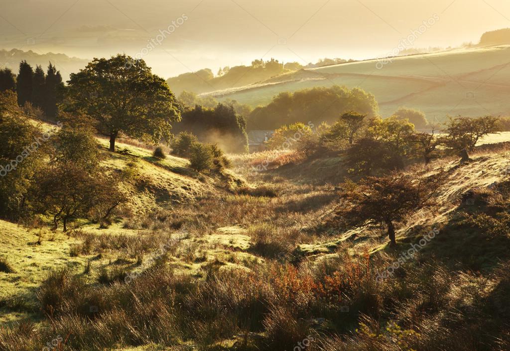 British Landscape on one fine autumn morning