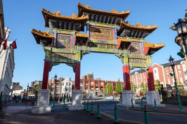 China town Liverpool UK