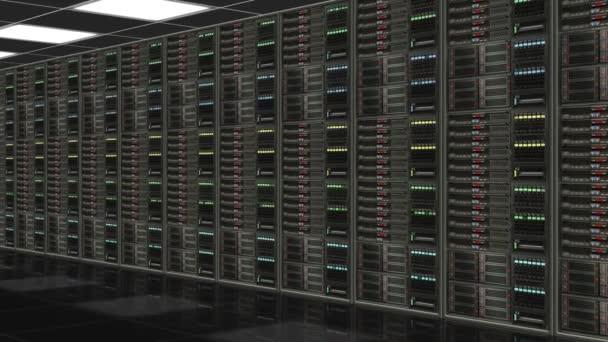 Reihe von Netzwerkservern