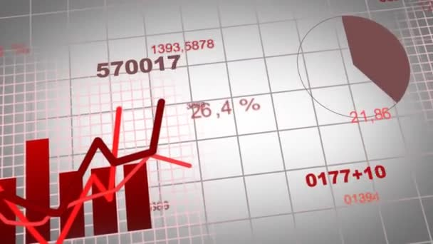 Growing charts animation in addition to black BG -red-