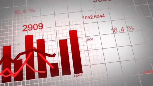Animation of growing charts - red