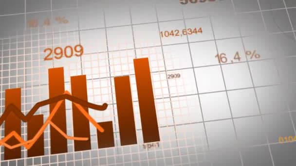 Animation of growing charts - brown