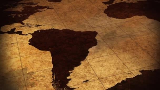 Mapa světa pozadí