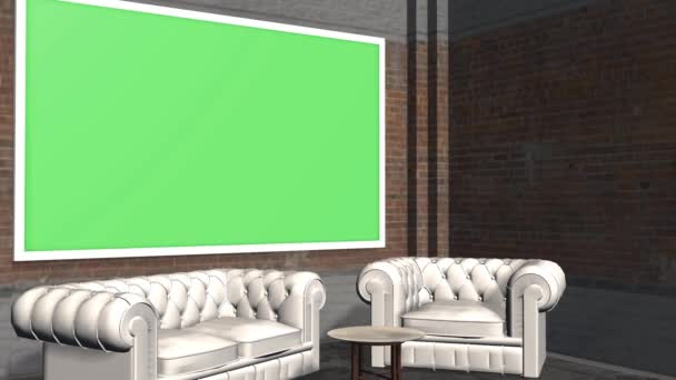 Virtual Studio Background With Green Screen Wall Animation Stock Video C Bestgreenscreen 55914385