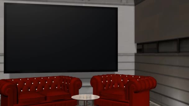 Virtual Studio Background With Green Screen Wall Animation Stock Video C Bestgreenscreen 55914551