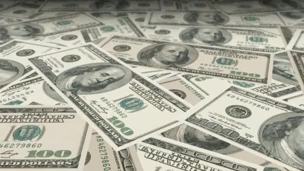 Dolly, střílel přes stůl s 100 dolarové bankovky s pěkně malou hloubkou ostrosti (Dof).