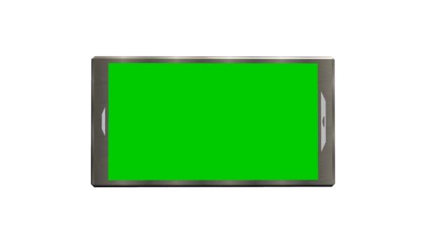 Smartphone Green Screen pro reklamní prezentaci obchod