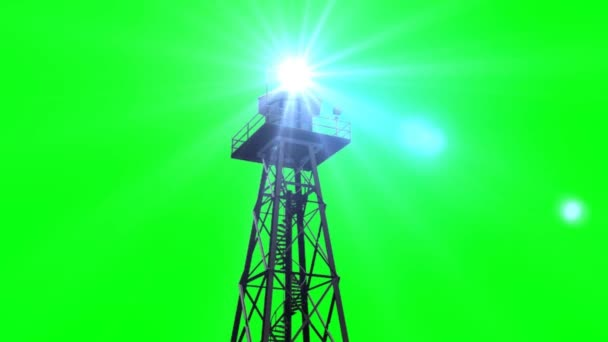Světlo ze strážní věže
