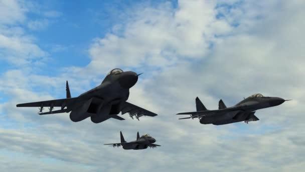 Repülőgépek repült az égen