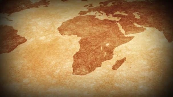 ročník mapa světa