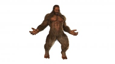 Scary Sasquatch bigfoot