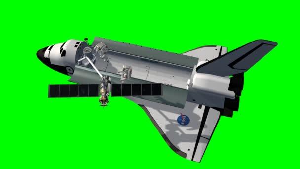 Astronauti na satelitu