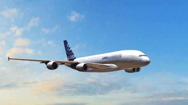 letadlo letící nad mraky