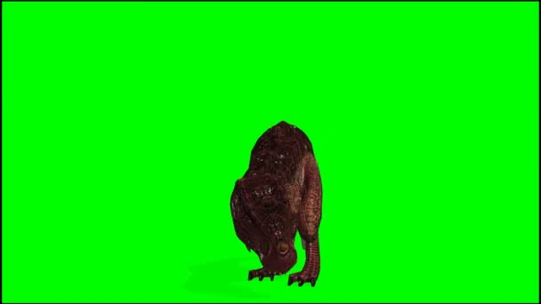 T-Rex Dinosaurier útoky